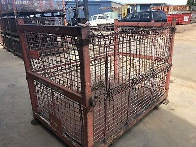 Stillage Large Heavy Duty Stackable Waste Scrap Wood Storage Stillages