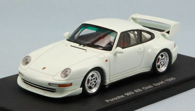 Porsche 993 Rs Club Sport 1995 White 1:43 Model S4195 SPARK MODEL