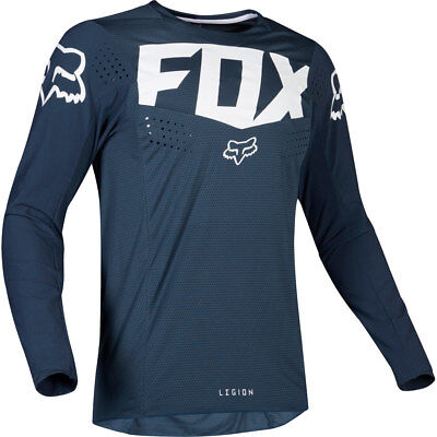 NEW Fox MX 2019 Legion Navy Motocross Dirt Bike Racing Offroad Jersey