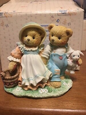 Cherished Teddies Jack and Jill 1993 Our Friendship Will Never Tumble 624772