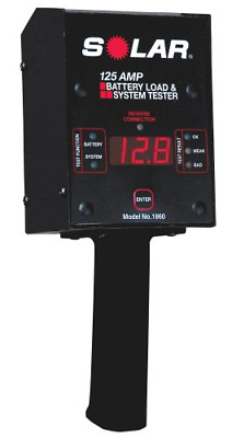 Solar 125 Amp Analog Battery Load Tester #SO 1850 LOOK