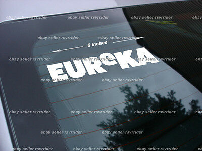 eureka tv show decal sticker *free ship