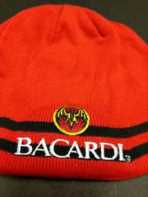Bacardi Rum Knit Hat NEW bar alcohol liquor Distillery