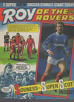 (-0-) ROY OF THE ROVERS COMIC 31st january 1987