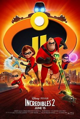 🔥 Incredibles 2 (2018 DVD) - Brand New -same day Free Shipping 🎁 🔥