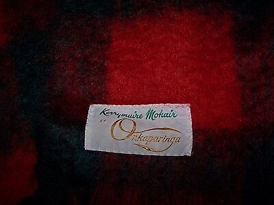 "Kerrymuire 100% Mohair Onkaparinga Australia Blanket Throw Stadium 50"" x 67"""