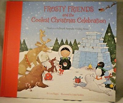 2018 Hallmark FROSTY FRIENDS and the COOLEST CHRISTMAS CELEBRATION Book NEW