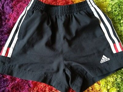 schwarze adidas Kinder Sport Shorts clima 365 G 128 Neu Training Fussball Tennis