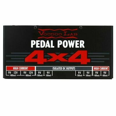 Voodoo Lab Pedal Power 4x4 Isolated  effects pedal Power Supply