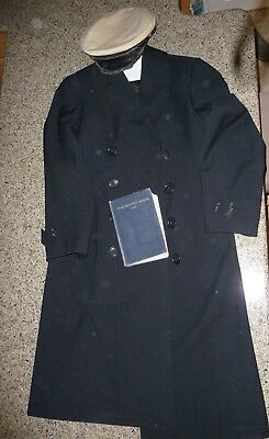 e825a27f0750 WWII US NAVY Petty Officer Outstanding Custom Tailor Made Dress Blue ...