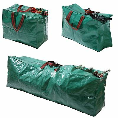 New Christmas Xmas Storage Zip Bag for Tree, Decorations & Lights - With Handles