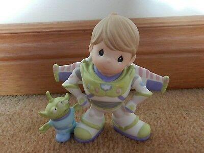 Precious Moments Buzz Lightyear To Infinity & Beyond Brand New Free Usps Ship