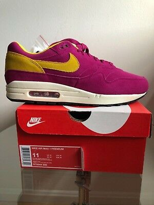 big sale b2a51 ab23e Nike Air Max 1 Premium 1987 30th Anniversary 875844-500 Size 11
