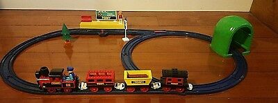 1988 Vintage Tomy Train Complete Set No 1 compatible with Thomas Tank Engine
