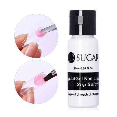 20ml Nail Poly Qucik Build UV Gel Liquid Slip Solution Extension Tool UR SUGAR