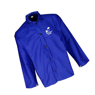 Flame-Resistant Welding Jacket - Blue, Fire retardant for Variety Chest