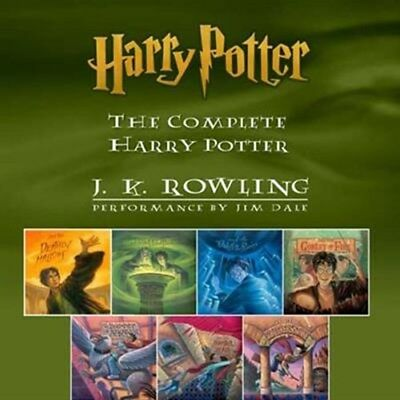 7 Audiobooks Harry Potter Collection by JIM DALE High Quality MP3 Audio Book