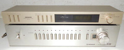 Pioneer TVX-9500 and DT-5 TV tuner and timer