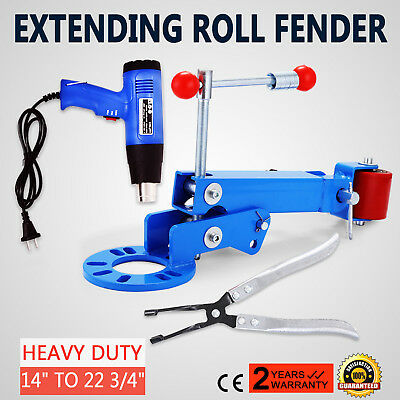 EXTENSION Fender roller+1500W CHALEUR GUN PNEU REPARATION HEAVY DUTY ROLL AUTO