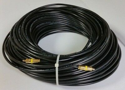100ft RCA RG-6 18 AWG Coax Cable Direct Burial Outdoor RG6 Coaxial Wire 100' New