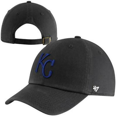 new style 82699 1aeb3  47 Brand Kansas City Royals Men s Clean Up Adjustable Hat Official MLB Cap  NWT.