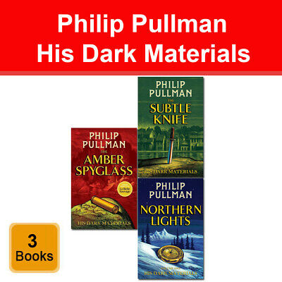 Philip Pullman His Dark Materials Trilogy Collection 3 Books Slipcase Pack Set