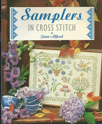 Samplers in Cross Stitch by Jane Alford - Embroidery Projects