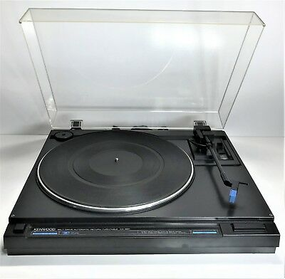 Vintage Kenwood Kd-35R Belt Drive Record Player Automatic Return Turntable