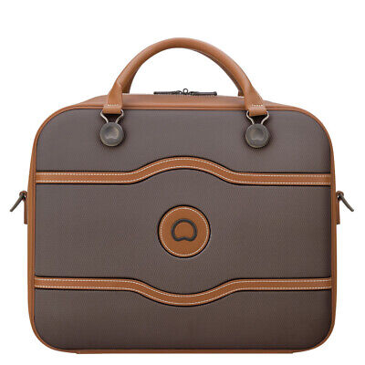NEW Delsey Chatelet Air 48 Hours Tote Travel Bag Chocolate