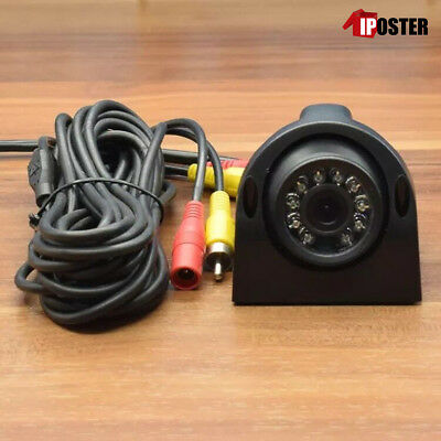1/3 CCD Color Waterproof Front / Side View Camera For Bus Truck Trailer RV + 10m
