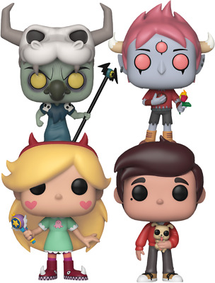 FUNKO POP! Star vs the Forces of Evil - Butterfly Kingdom ( SET OF 4)