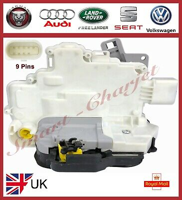 Audi A3 8L1 Front Right Side Central Door Lock Actuator 1996>2004 *new* 9 Pin
