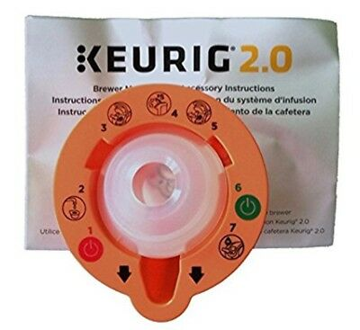 Keurig 2.0 Brewer Top Needle Cleaning Maintenance Accessory New