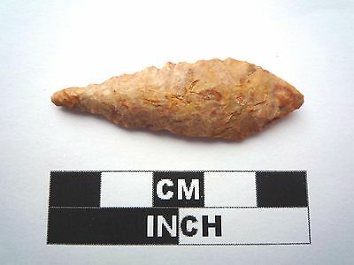 Neolithic Arrowhead 49mm, High Quality Saharan Flint Artifact - 4000BC  (1028)