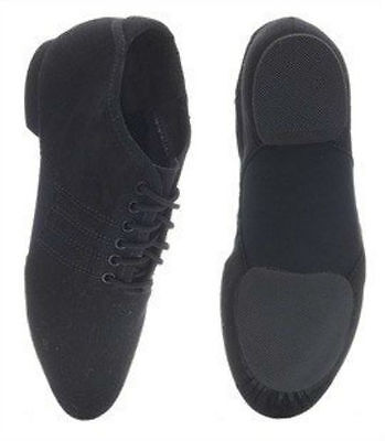 CAPEZIO Split Sole Stretch Canvas Jazz Shoes style 460 Strazz RRP £39.00