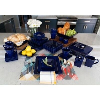 10 Strawberry Street Nova Square Banquet 45 Piece Dinnerware Set