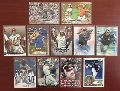 2018 Topps Update Series INSERTS - GOLD - RAINBOW - UPICK 15 -Finish Your Set!!!