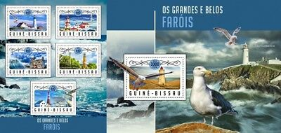 Topical Stamps Guinea-bissau 1678-1683 Postfrisch 2001 Gemälde