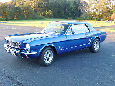 1966 Ford Mustang Sport Coupe, Street Machine, RestoRod High Performance 289 Ford, C-4 Auto, Less than 500 miles Ex. Cond. (video)