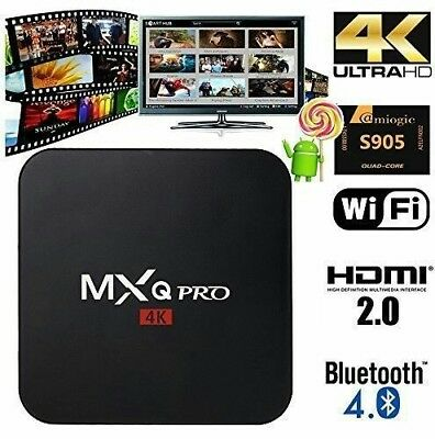 🇮🇪2019 MXQ Pro Android TV Box S905x Android 7.1 KODI Streamer (April Box)📺