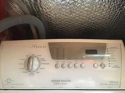 Machine A Laver Arthur Martin Electrolux Capacite Variable Auto 1200 Tours