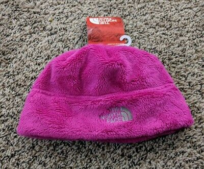 dd3c369e825 THE NORTH FACE Denali Thermal Beanie Winter Hat Pink Small Youth Girls  NEW!