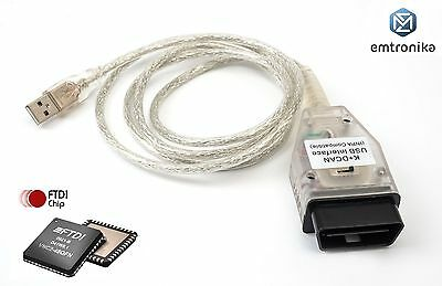 BMW MINI e90 e60 E70 CIC retrofit K D CAN USB OBD Coding cable NCSexpert INPA