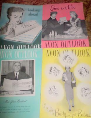 Avon Outlook Magazines in the Year 1957 16 Magazines Ephemera Scrapbooking