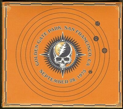 Grateful Dead 30 Trips Around the Sun 9/28 1975 GG Park San Francisco BRAND NEW!