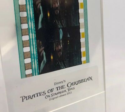 5-Cell 35mm DISNEY'S Pirates Of The Caribbean IV Johnny Depp CAPT. JACK SPARROW