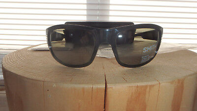 f1fa9a9a969 NEW SMITH OPTICS Clayton Sunglasses Black ChromaPop™ Polarized Gray ...