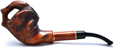 Amazing Tobacco Pipes American Dragon Claw, handmade, handcarved work, durable