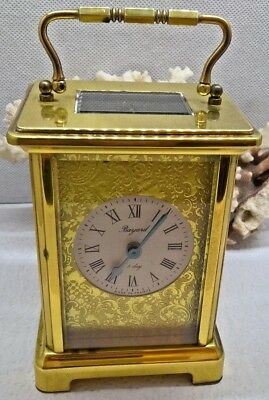 Vintage French Bayard 8 Day Clock Carriage / Travel Machanical