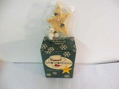 """Snowonders by Sarah's Attic Collect all Twelve """"March - Believe in Wishes"""""""
